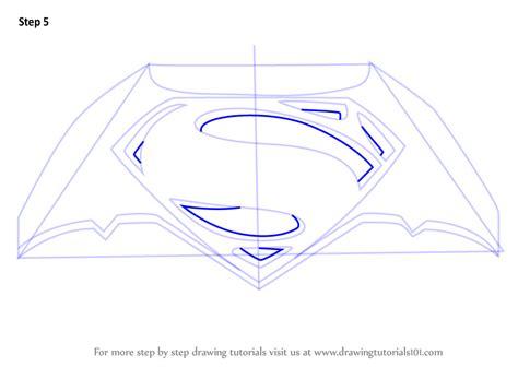 Logo Drawer by Learn How To Draw Batman V Superman Logo Batman V
