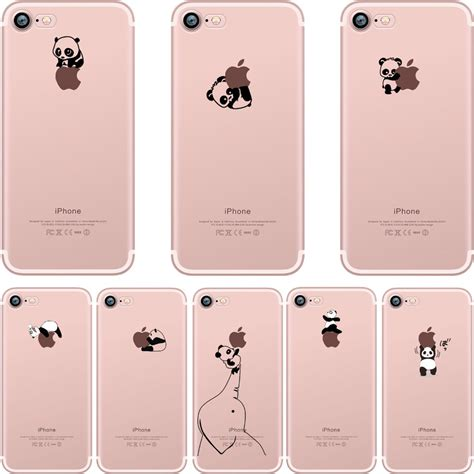 Iphone 6 Softcase Custom Cases Panda Best Seller aliexpress buy phone cases lovely interesting animal pandas design clear soft silicone tpu