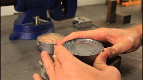 how to open a can with can opener how to open a can without can opener survival