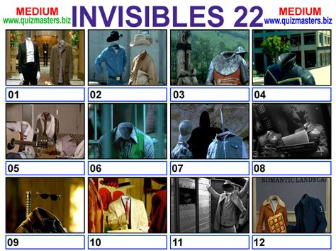 invisibles film quiz answers invisibles