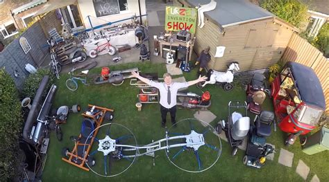 backyard inventors the amazing inventions of colin furze