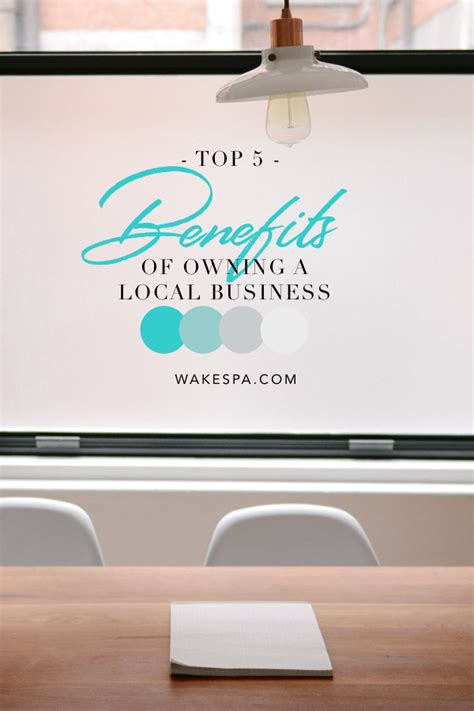 benefits of owning a top 5 benefits of owning a local business foot sanctuary