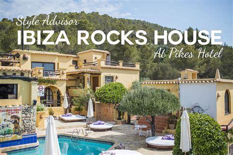 rocks house ibiza style style advisor ibiza rocks house at pikes hotel white ibiza