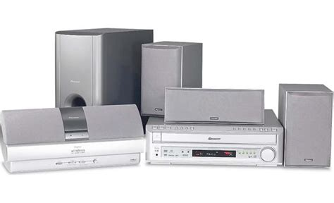 pioneer htd 630dv 5 disc dvd home theater system with