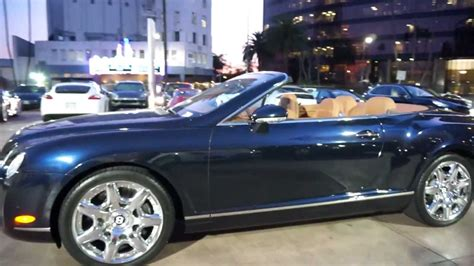 bentley convertible blue 2008 bentley continental gt convertible mulliner blue on