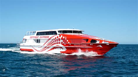 rottnest express boats boat marine signs and signage perth phone 08 9433 5544