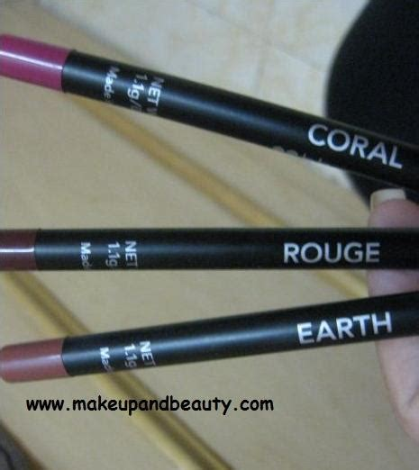 Waterproof Lip Liner Bh Cosmetics bh cosmetics waterproof lip liners review indian makeupblog