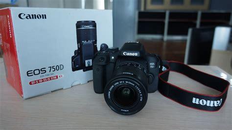 Kamera Canon Dslr Di Medan review canon eos 750d cocok untuk fotografer pemula yang