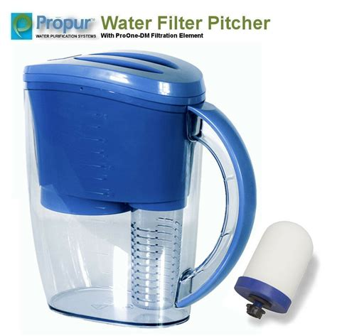 propur water filter pitcher proone  filtration