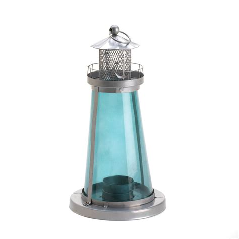 Where To Buy Cheap Candle Holders Wholesale Blue Glass Tower Candle L Buy