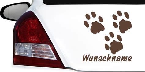 Heckscheibenaufkleber Tiere by Tiere Mit Wunschnamen Als Autoaufkleber