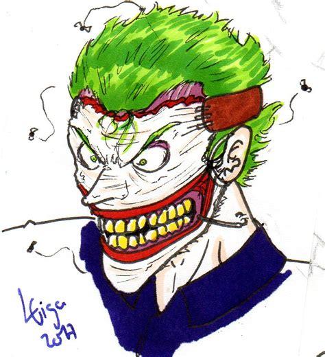 doodle joker joker new 52 doodle by clemi1806 on deviantart