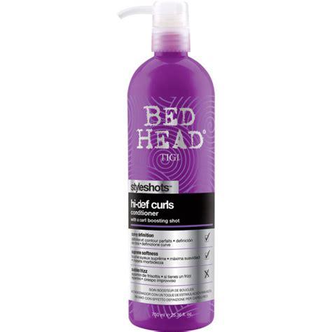 bed head reviews tigi bed head hi def curls conditioner styleshots 750ml