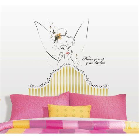 Disney Home Decor Ideas by 18 In X 40 In Disney Fairies Tinkerbell Headboard 7