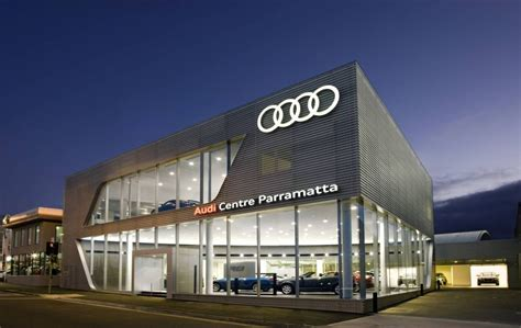 audi centre sydney used cars audi centre parramatta is officially opened