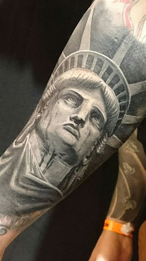 libertyville tattoo statue of liberty beautiful tattoos faces