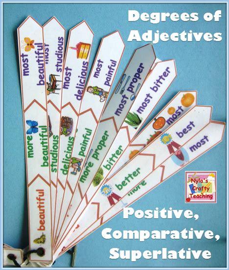 adjectives positive comparative and superlative