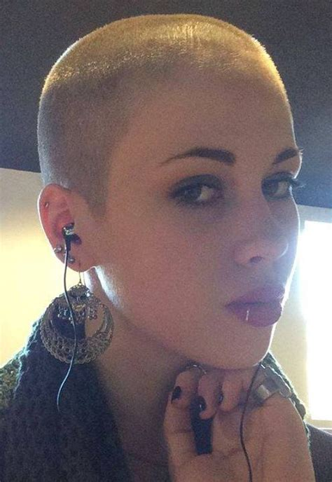 what is a nickname for shaved hair around the ear 60 best buzz cut women images on pinterest buzz cuts