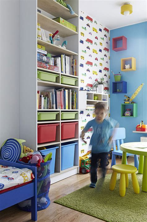 fun toys for the bedroom go vertical with toy and other storage in a small kids