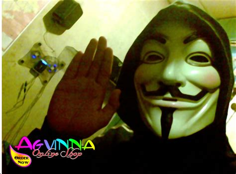 jual topeng anonymous   vendetta guy fawkes