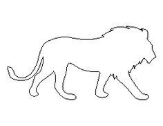 pattern universe pig lion pattern use the printable outline for crafts