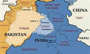 India Pakistan Map by India And Pakistan Teeter On The Brink Of War Encouraged