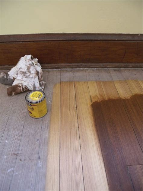 chestnut wood floor stain minwax chestnut on pine for the home