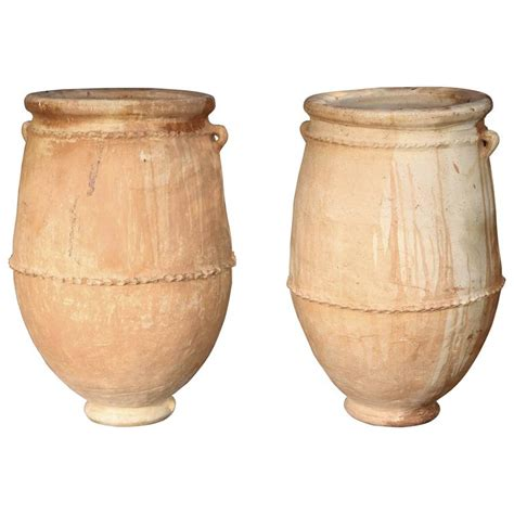 Moroccan Planters by Large Oversized Moroccan Planters Olive Jars At 1stdibs