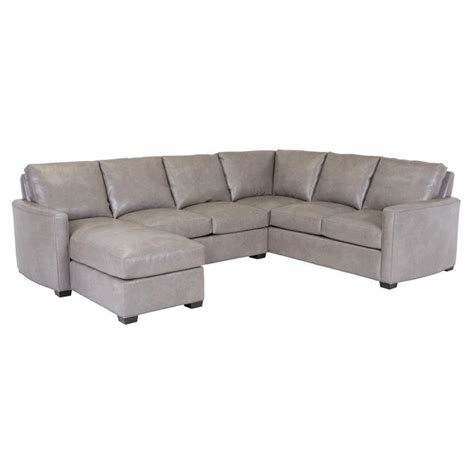 classic leather sectional classic leather chesney sectional chesney leather sectional