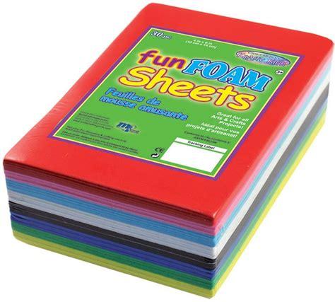 Craft Foam Paper - multicraft imports foam sheets craft foam sheets foam
