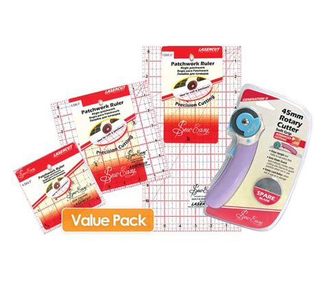 pattern making rulers australia patchwork rulers cutter value pack sew easy by sew