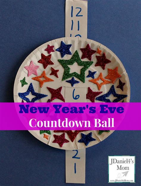 new year craft ideas for preschool new year s countdown activity for