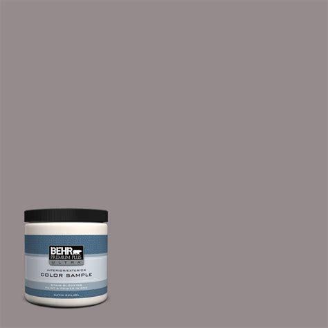 Behr Interior Satin Enamel by Behr Premium Plus Ultra 8 Oz T18 03 Graylac Satin Enamel