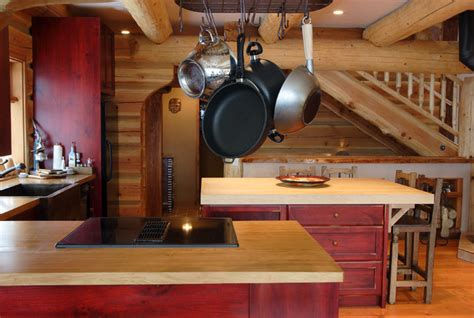 Kitchen Paint Ideas With Oak Cabinets by Kitchen Ideas For Log Homes