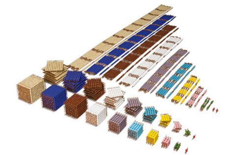 Bead Material Cabinet Montessori Design