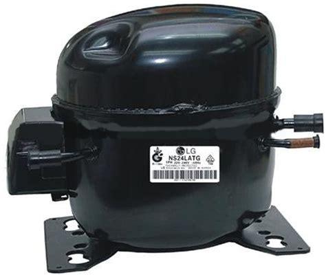 lg compressor capacitor r134a lbp model ns36laeg 1ph220v 240v50hz fridge freezer refrigeration compressor view fridge