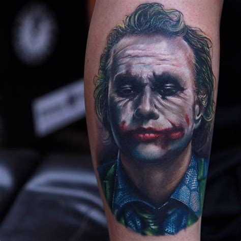 heath ledger joker tattoo designs 30 imposing joker designs amazing ideas