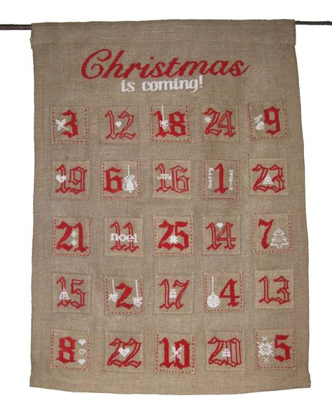 Handmade Advent Calendar - 20 enchanting handmade advent calendar ideas