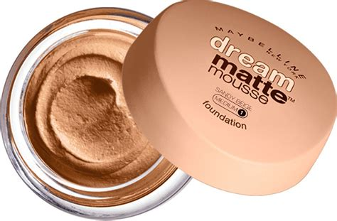 Maybelline Matte Mousse Foundation maybelline matte mousse foundation 18 g price in india buy maybelline matte