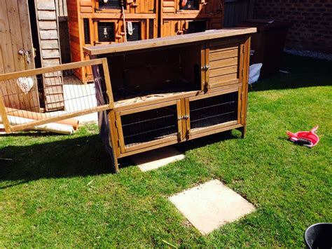 Bunny Hutches For Sale Used used rabbit hutch for sale wakefield west pets4homes