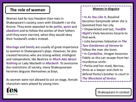 shakespeare s macbeth the theme of gender abridged the role of women in shakespeares tragedies pdf recent