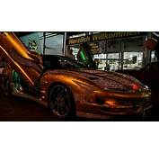 Pontiac Trans Am Wrapped With Gold For Sale