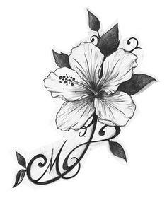 hibiscus tattoo drawing at getdrawings com free for