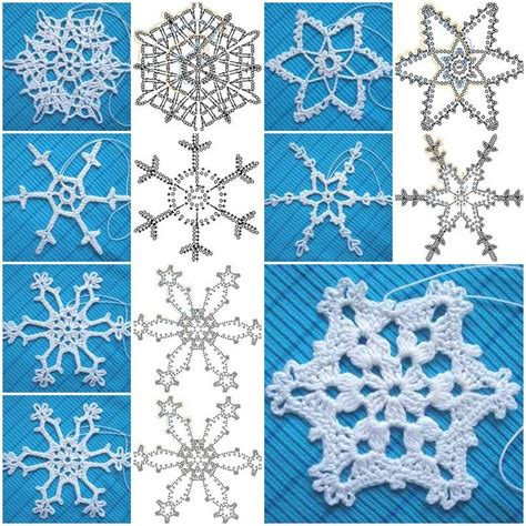 snowflake motif pattern crochet snowflake pattern cottageartcreations com