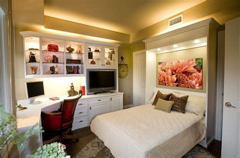 Design Home Office In Bedroom Maximize Small Spaces Murphy Bed Design Ideas