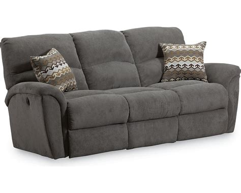 recliner sofa fabric grand torino double reclining sofa lane furniture