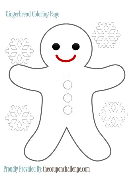 cute gingerbread man coloring page gingerbread man coloring page