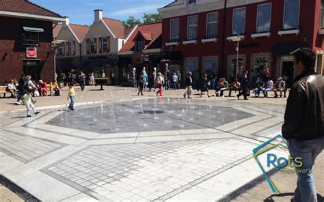 outlet verlichting tilburg project outletcenter roermond fontein op maat