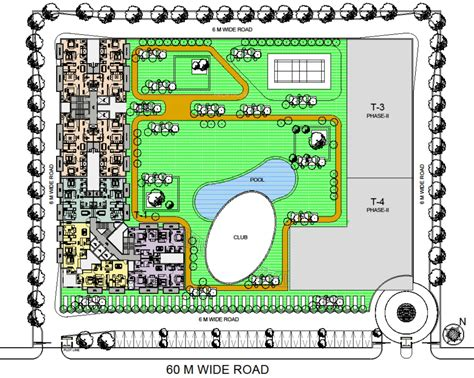 layout plan of noida extension saha meghdutam encore in sector 1 noida extension noida