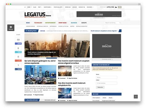 newspaper theme wordpress documentation top 30 responsive magazine news wordpress themes for